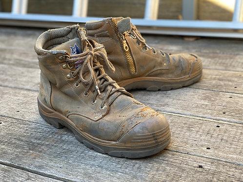 Steel Blue Mechanics Boot - Scruff Range