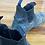 Thumbnail: Steel Blue slip on- black