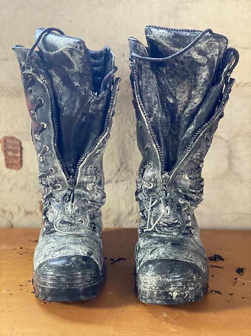 Size 9 Steel Blue Miner's