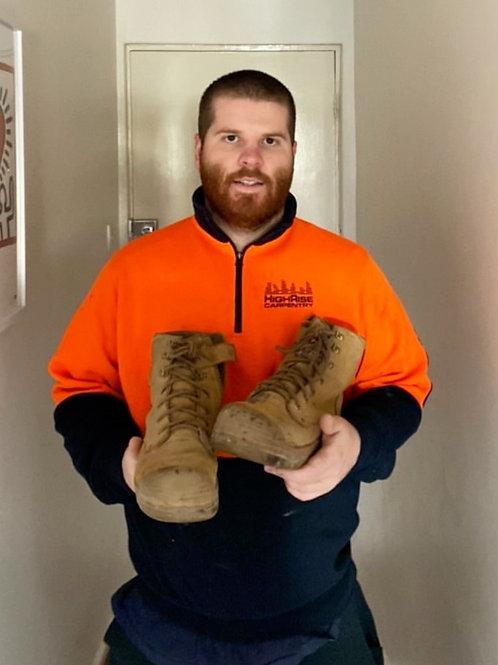 Steel Blue carpenter boots
