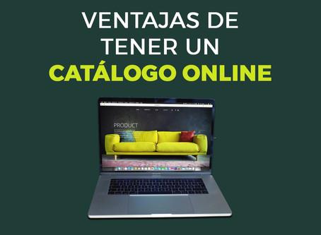 Infografía: Ventajas del catálogo online