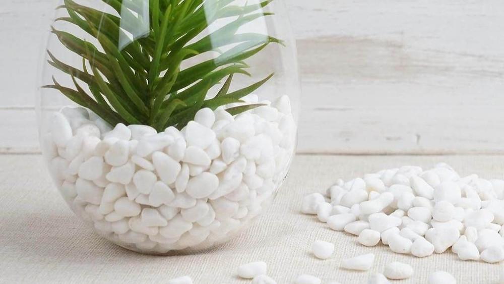 arenas y piedras naturales para manualidades