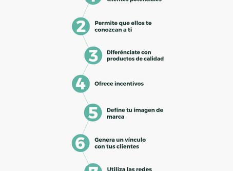 Infografía: 7 consejos rápidos de marketing digital para pymes