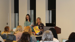 Conference session on Guided Reading