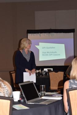 Lisa McIntosh at Leadership