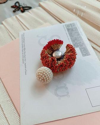 Stitch 2107 Fire ball brooch