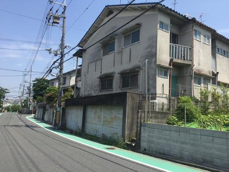 茨木市内 共同住宅 解体工事