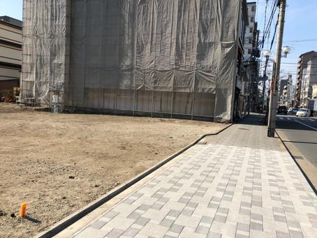 京都七条新町 仮囲い設置工事
