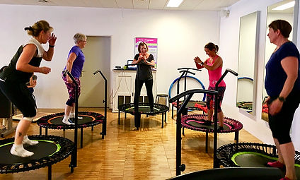 Bellicon Trampolin Groupfitness