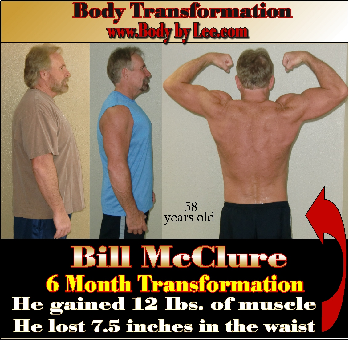 Before & After Bill McClure Pic B