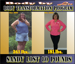 Sandy Brown Body Transformation