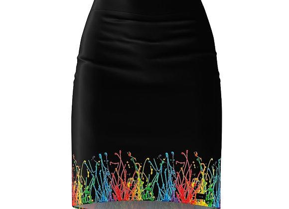 DAFENGA NYC Spectrum Skirt