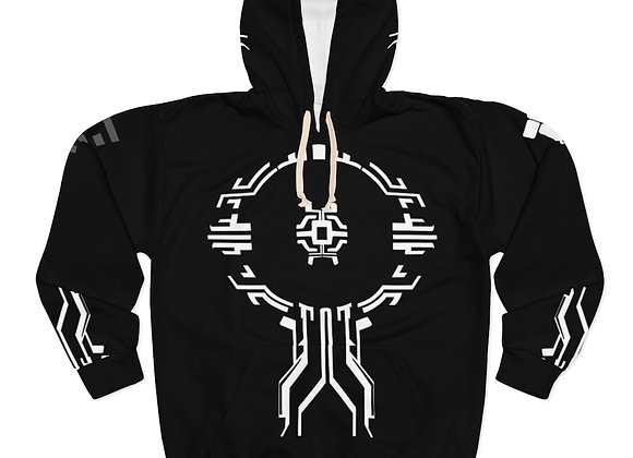 DAFENGA NYC Cyber Pullover Hoodie