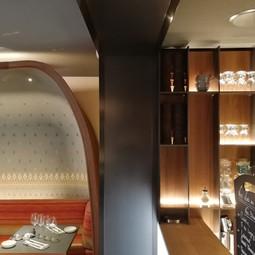 Habillage de plafond en tôle d'aluminium