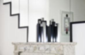 Décoration vase et bougeoirs design en métal aluminium style industriel contemporain fabriqué en France par l'Alufacture