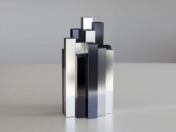 vase aluminium