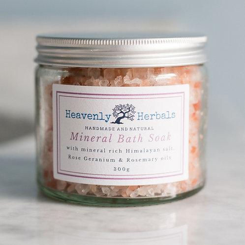 Rose Geranium Mineral Bath Soak