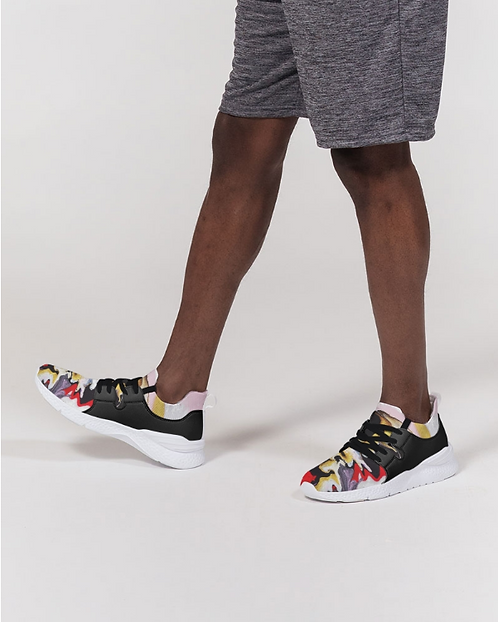 Pouring Contrast Men's Two-Tone Sneaker