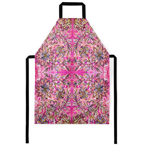Blooming Flowers Apron