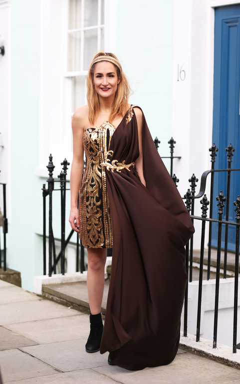 Gold Godess Gown