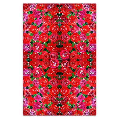 Red Roses Bed Sheet