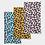 Thumbnail: Funky Cheetah Print Neck Gaiter Set