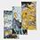 Thumbnail: Pouring Gold Print Neck Gaiter Set