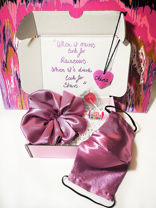 Send Some Love Small Gift Box Care Box (Pink)