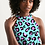 Thumbnail: Funky Cheetah Women's Halter Dress