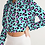 Thumbnail: Funky Cheetah Women's Cropped Hoodie