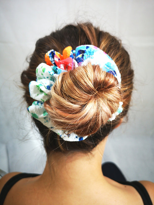 Fun in Paint Scrunchie