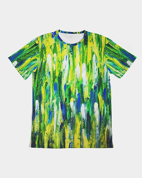 Abstract Greenery Men's Tee