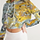 Thumbnail: Pouring Gold Women's Cropped Hoodie