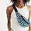 Thumbnail: Funky Cheetah Print Crossbody Sling Bag