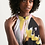Thumbnail: Pouring contrast Women's Halter Dress