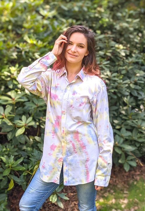 Pastel Rainbow Tie Dye Shirt