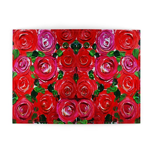 Red Roses Passport Cover