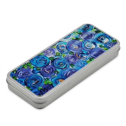 Blue Roses Pencil Case