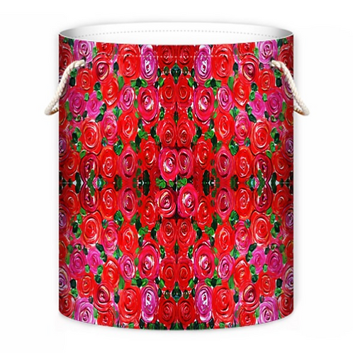 Red Roses Laundry Bag