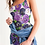 Thumbnail: Purple Secret Garden Women's Midi Bodycon Dress