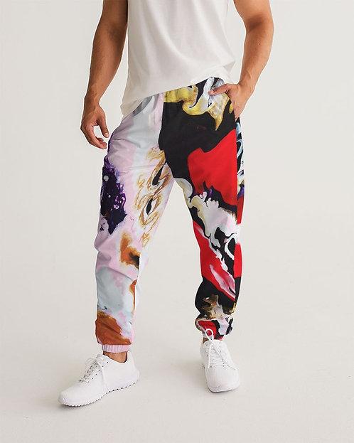 Pouring Contrast Men's Track Pants