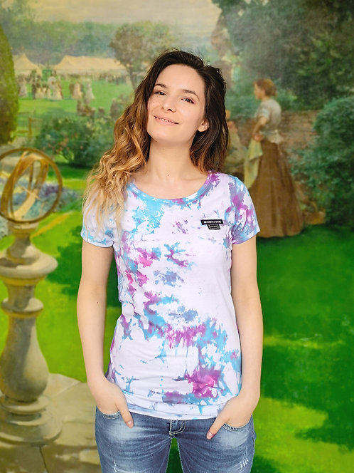 Pastel Splash Tie Dye Organic Cotton Shirt