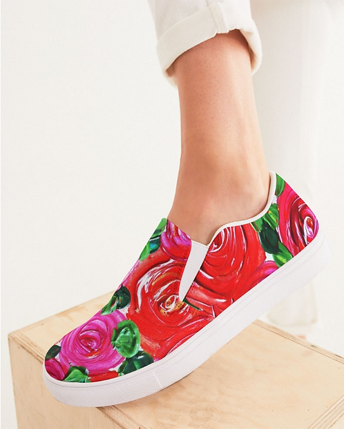 Secret Garden Women's Slip-On Canvas Shoe
