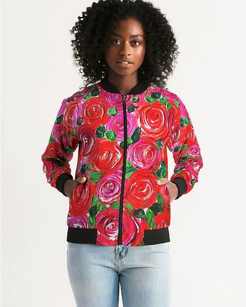 Secret Garden Women's Bomber Jacket