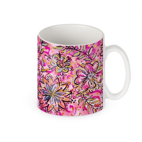 Blooming Flowers Mug
