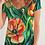 Thumbnail: Summer Flowers Women's V-Neck Tee