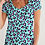 Thumbnail: Funky Cheetah Women's V-Neck Tee