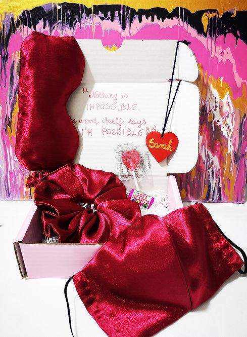 Send Some Love Big Gift Box Care Box (Red)