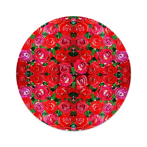 Red Roses Food Platter Tray