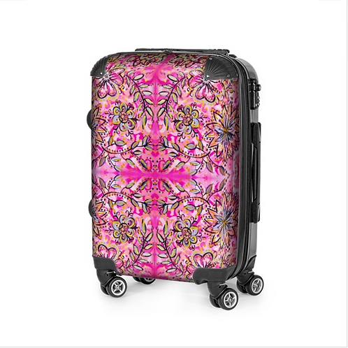 Blooming Flowers Travel Suitcase